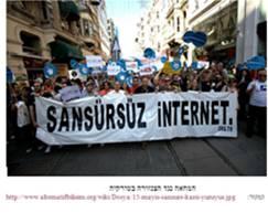 צעדה נגד הצנזורה בטורקיה