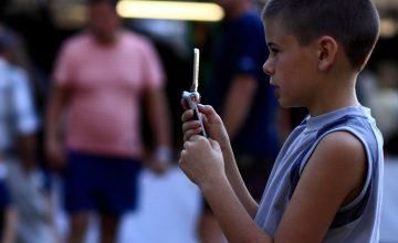 הילדים הישראלים גולשים ביו-טיוב לפני גיל שנה